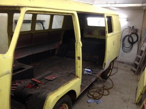 VW T2 Split Before