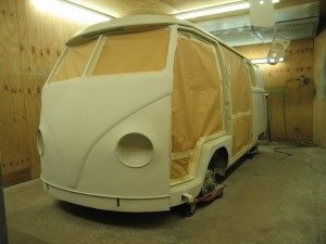 VW T2 Split Primed