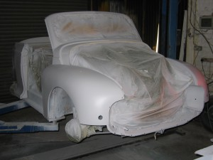 Morris Minor 1948 Split Screen Low light Primer
