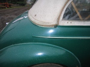 Morris Minor 1948 Split Screen Lowlight Before