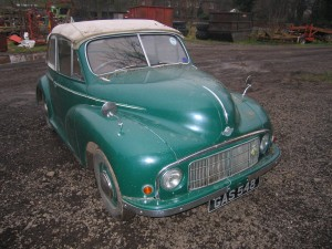 Morris Minor 1948 Splitscreen Lowlight Before1