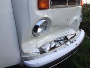 VW T2 Bay Dent
