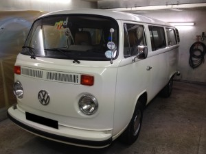 VW T2 Bay Straight
