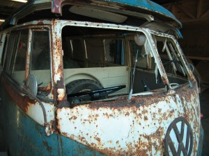 VW T2 Split 1955  Before