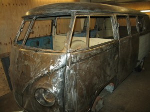 VW T2 Split 1955 Stripped