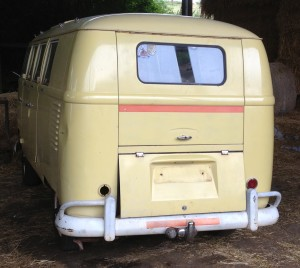 VW T2 Splitscreen Camper before Restoration at Retro Resto